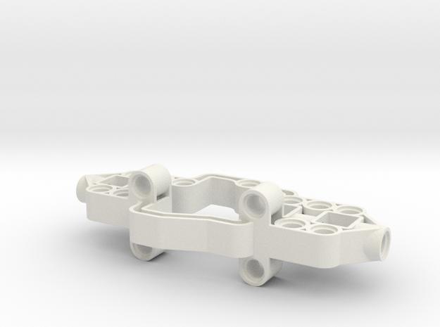 Diff Frame Support v2 in White Natural Versatile Plastic