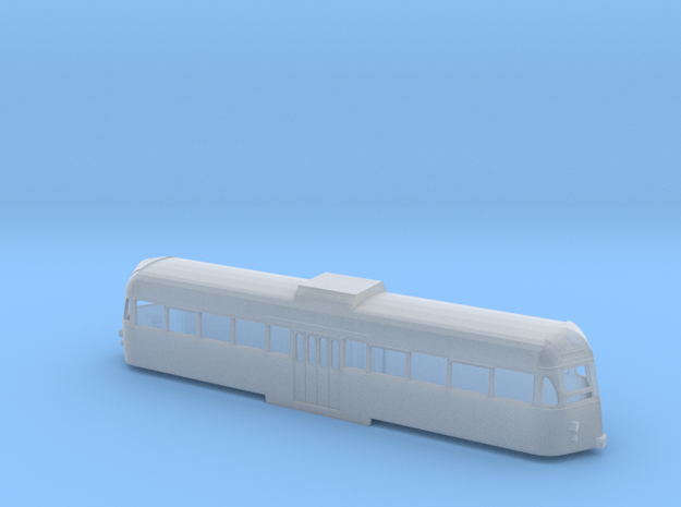 N Scale Blackpool Brush Car Tram - 1970s 621 in Smooth Fine Detail Plastic
