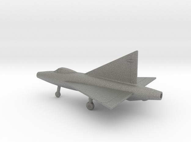 Convair XF-92A in Gray PA12: 1:200