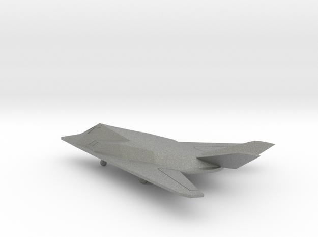 Lockheed F-117 Nighthawk in Gray PA12: 6mm