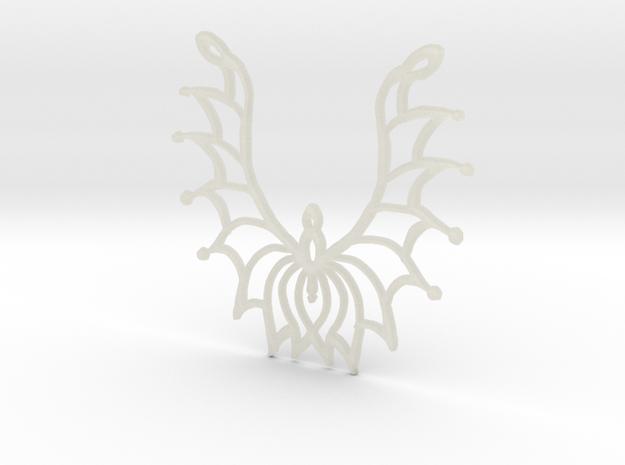 :Flowersong: Pendant 3d printed