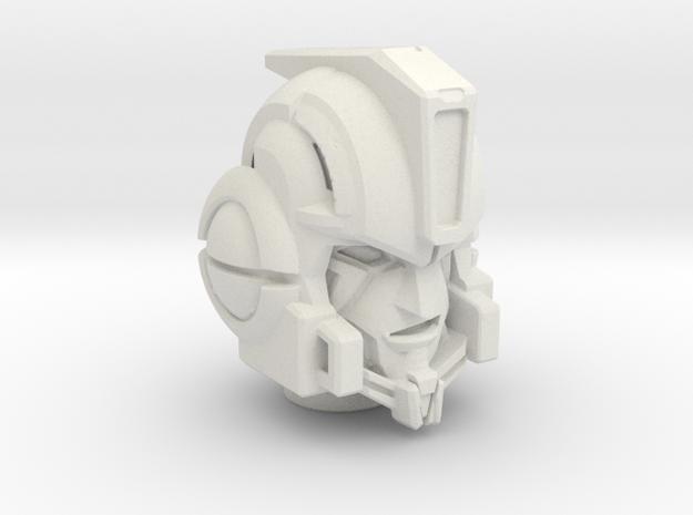Transformers Dark of the Moon Leader Ironhide Repl in White Natural Versatile Plastic
