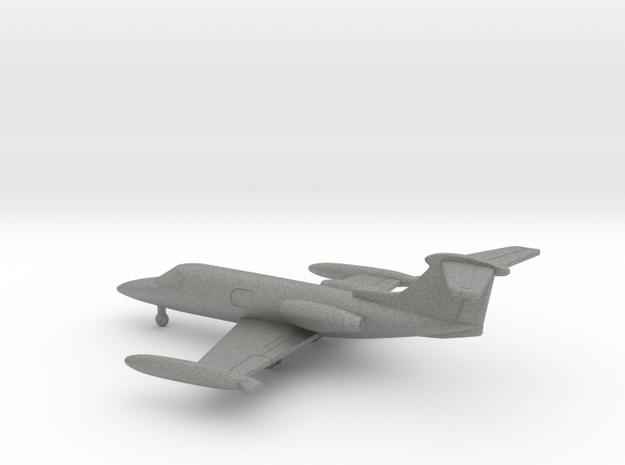 Learjet 23 in Gray PA12: 1:200
