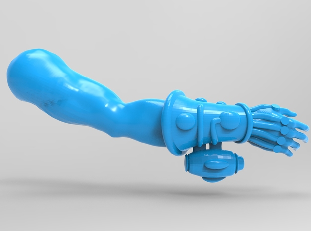 Space Elf Harlequin Caress with Arm RH x10 in Smooth Fine Detail Plastic