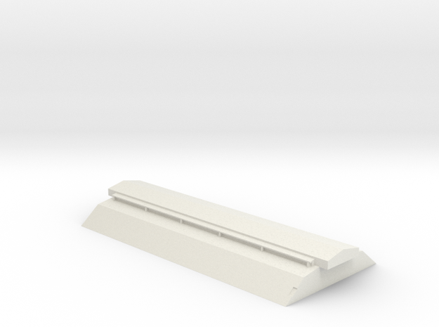 PAA72 O single door top in White Natural Versatile Plastic