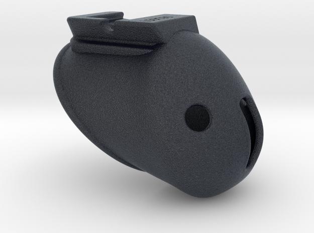 X3s Classic L=50mm (2 inches) in Black PA12: Medium