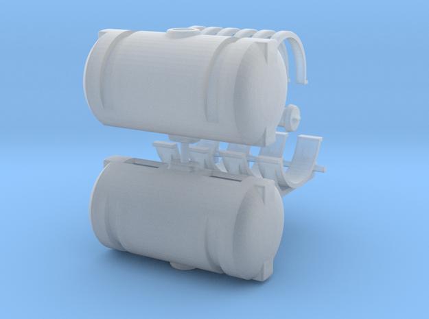 150 Gallon Round Tanks in Smooth Fine Detail Plastic