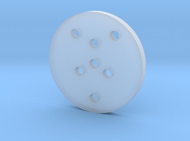 Transparent_Eco_Cap in Smooth Fine Detail Plastic