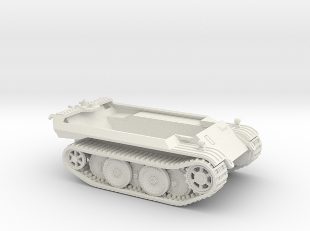 1/72 VK 16.02 Hull & Tracks in White Natural Versatile Plastic