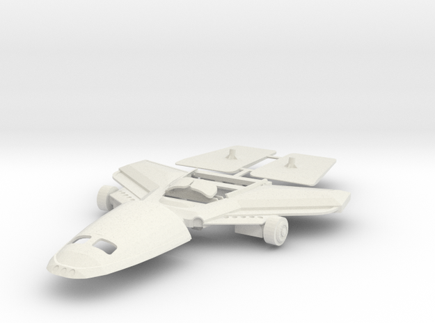 Chest shield with wings for Zeta Toys Bruticon in White Natural Versatile Plastic