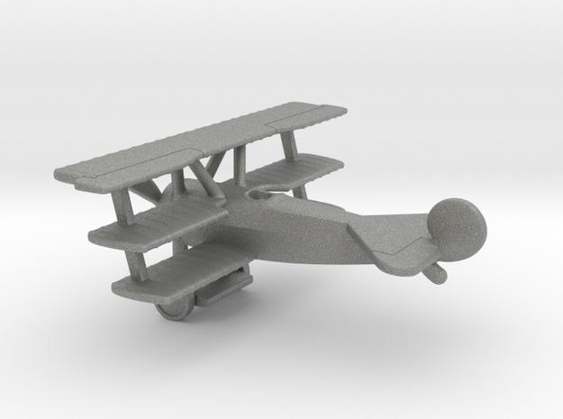 Fokker Dr.I Dreidecker in Gray PA12: 1:144