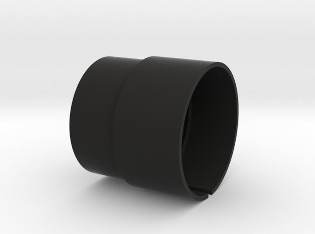 LEDHolder-fits2inOpticalTube in Black Natural Versatile Plastic