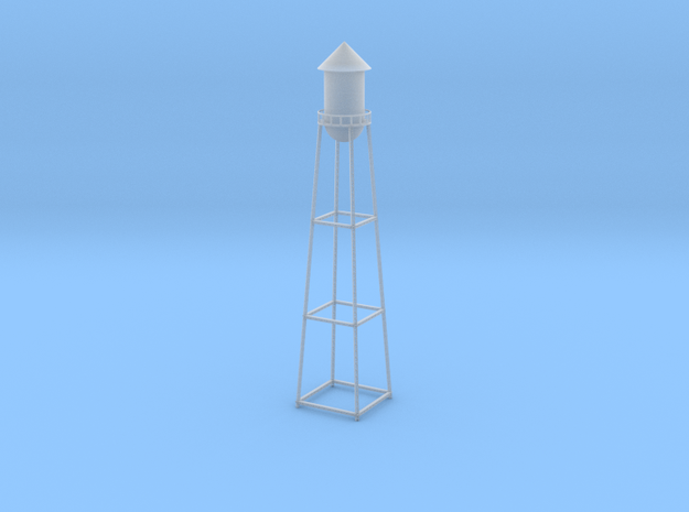 Water Tower II - Z Scale in Smooth Fine Detail Plastic