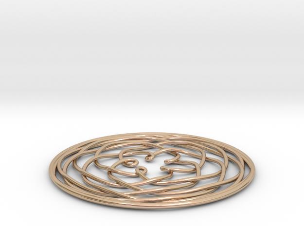 Venus Pendant 3d printed