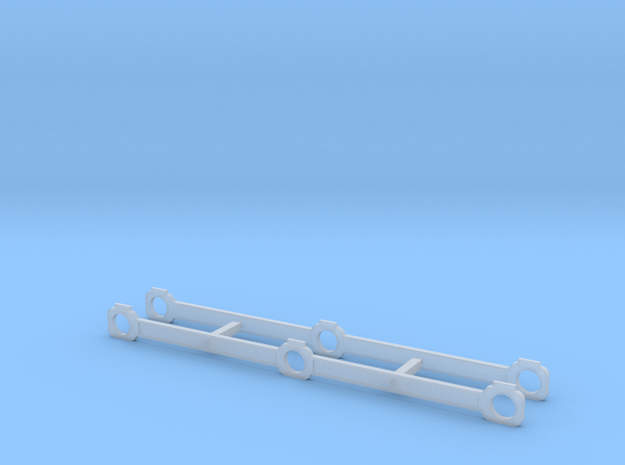 OO Scale NWR #1 Side Rods in Smoothest Fine Detail Plastic