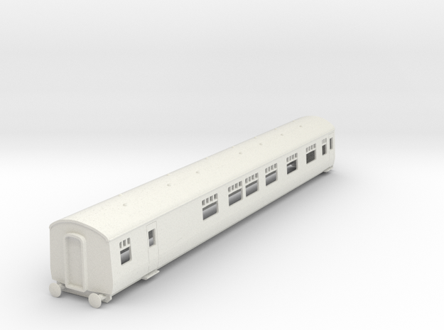 o-87-cl126-trailer-buffet-first-coach in White Natural Versatile Plastic