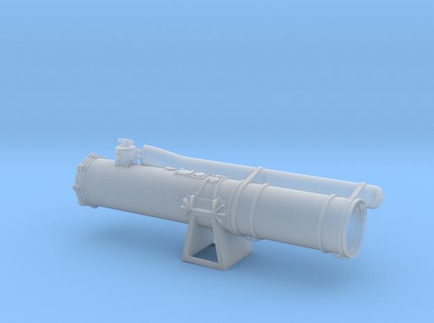 HigginsTorpedoTube STBD rear in Smooth Fine Detail Plastic