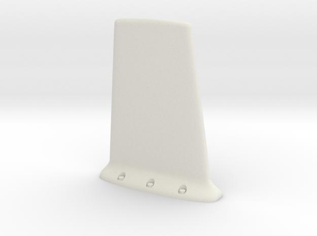UH-1 Antena UHF/VHF 1/18 in White Natural Versatile Plastic