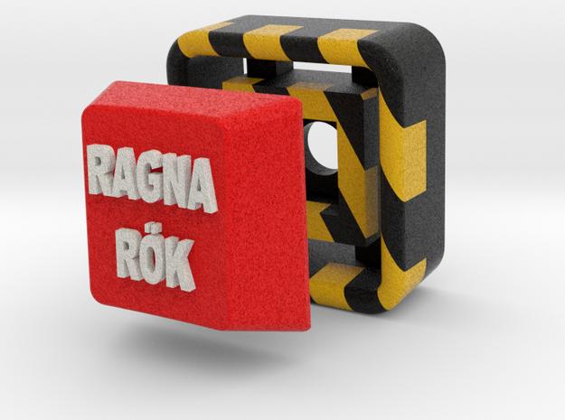 Full Color Key of Ragnarök 3d printed