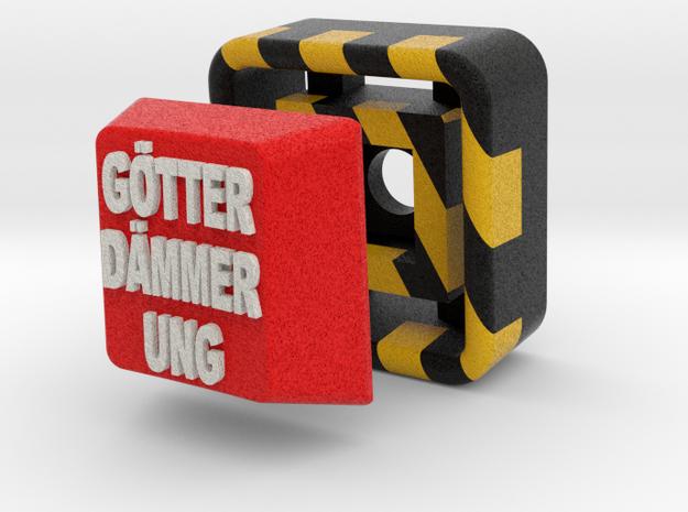 Full Color Key of Götterdämmerung 3d printed