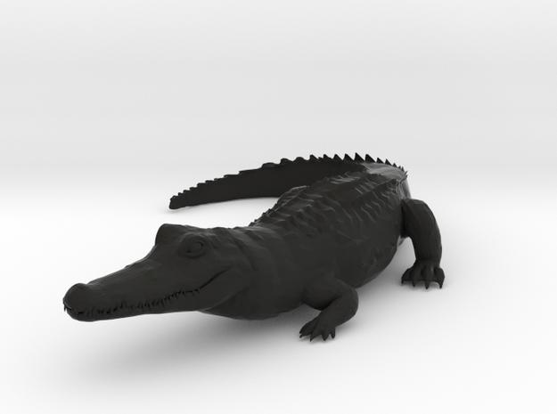ALLIGATOR in Black Natural Versatile Plastic