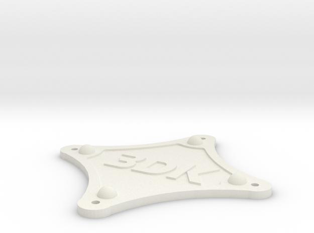 BetaFPV 95x v2 Bottom Plate in White Natural Versatile Plastic