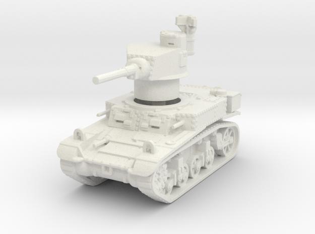 M3 Stuart mid 1/120 in White Natural Versatile Plastic