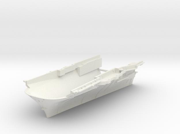 1/600 CVS-11 USS Intrepid Bow (Waterline) in White Natural Versatile Plastic