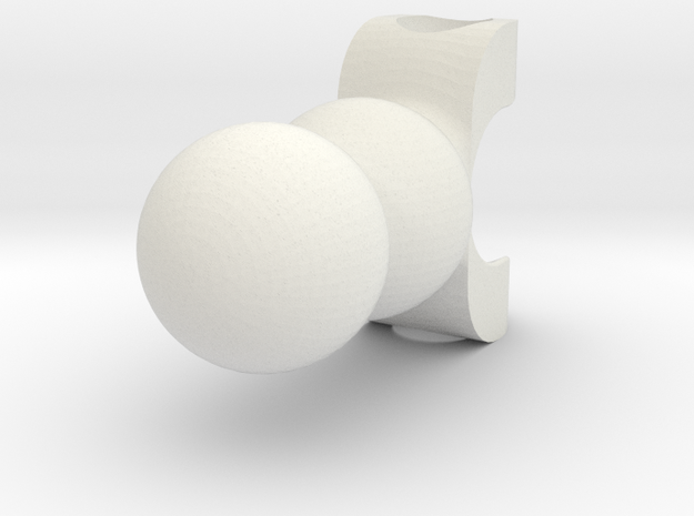 3M Double Ball Jointed Bone | CCBS in White Natural Versatile Plastic