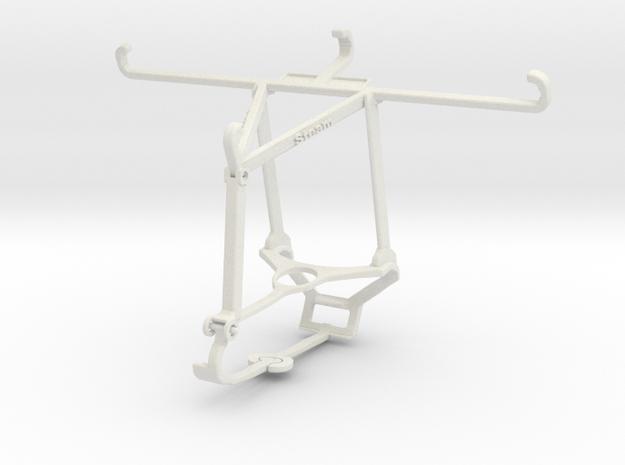 Controller mount for Steam & Oppo Reno4 Lite - Top in White Natural Versatile Plastic