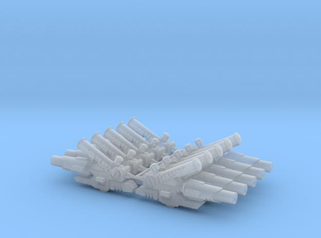 Tau - Airbursting Fragmentation Projector x 10  in Smooth Fine Detail Plastic