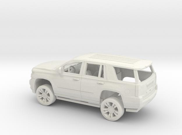 1/50  2015 Chevrolet Tahoe Kit in White Natural Versatile Plastic