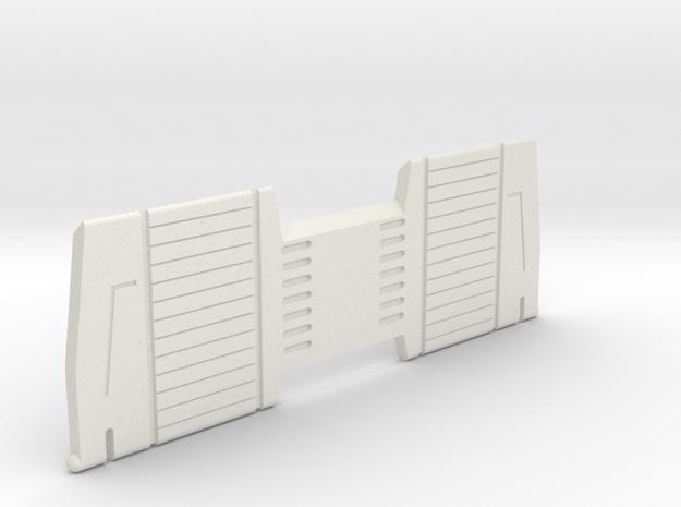 Starcom - Skyroller - Ramp in White Natural Versatile Plastic