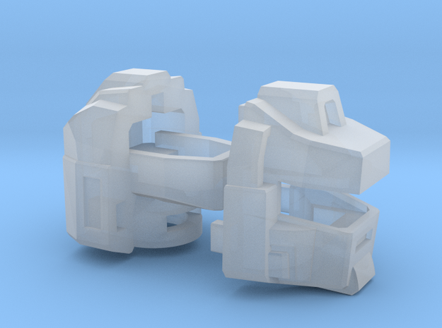 The Magnawheeler's Head, G1 toy style, WFC-ER in Smooth Fine Detail Plastic