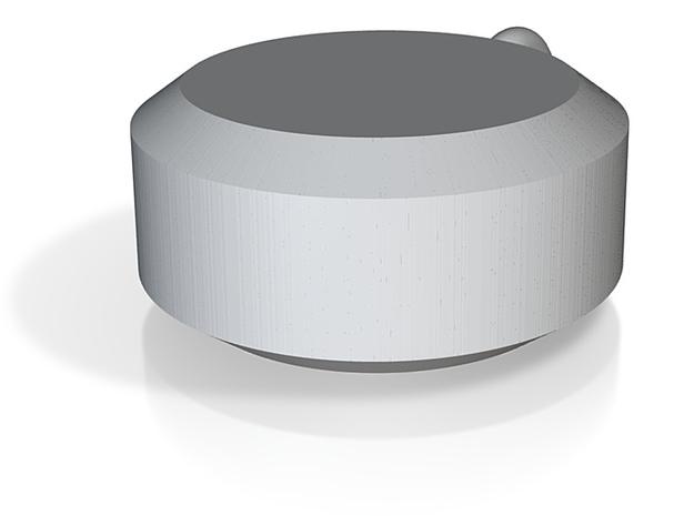 mobius in pendant 3d printed