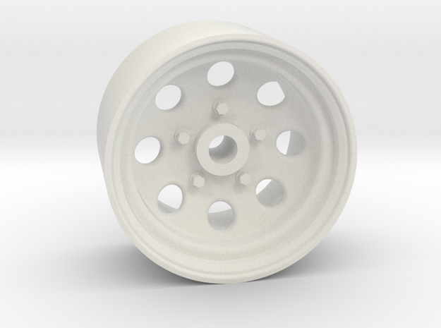 Type 181 18x10mm 4x1mm Hex OS -4 BS 1 in White Natural Versatile Plastic