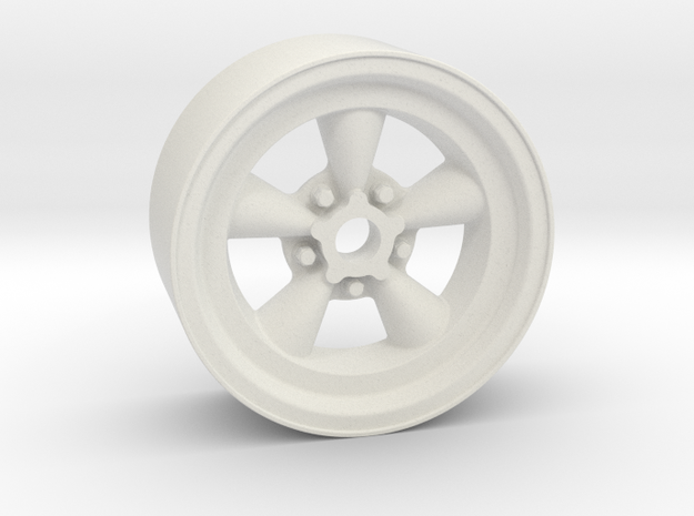 Classic 5T 18x8mm 4x1mm Hex OS 0 BS 4 in White Natural Versatile Plastic