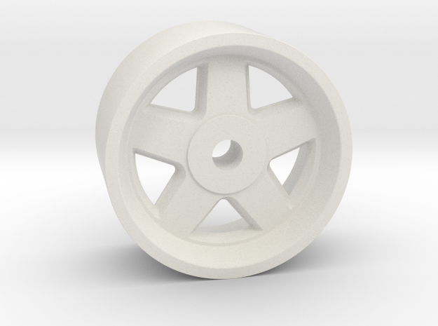 18x9mm 2mm 4x1mm Hex OS -1 BS 3.5 in White Natural Versatile Plastic