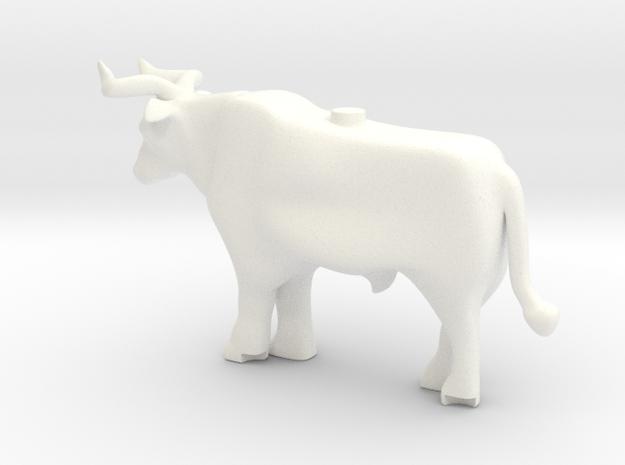 Aurochs in White Processed Versatile Plastic