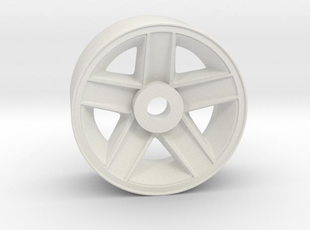 OEM Style 3rd Gen Camaro RC Wheel  in White Natural Versatile Plastic