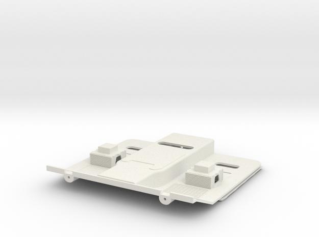 1/14 Tamiya Scania Innenraum Interior Leather in White Natural Versatile Plastic