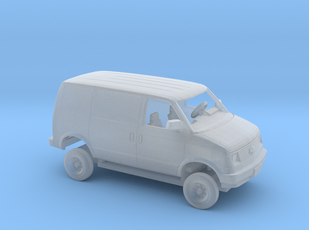 1/87 1985 Chevrolet Astro Delivery Van Kit in Smooth Fine Detail Plastic