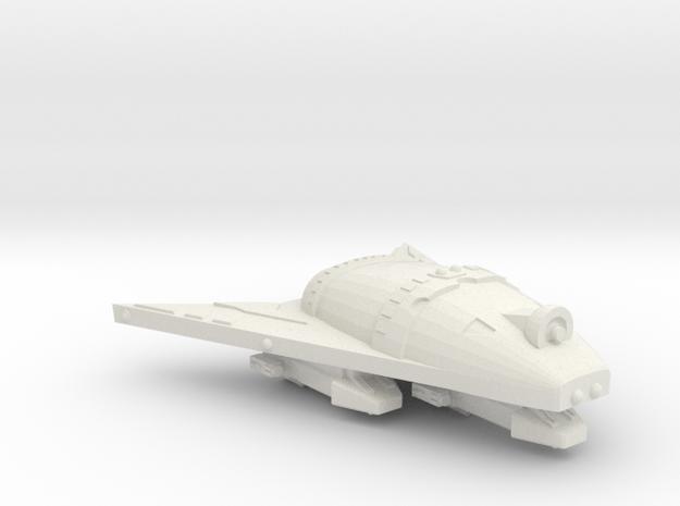 3788 Scale Hydran Light Gunboat/PF Tender (FDW) CV in White Natural Versatile Plastic