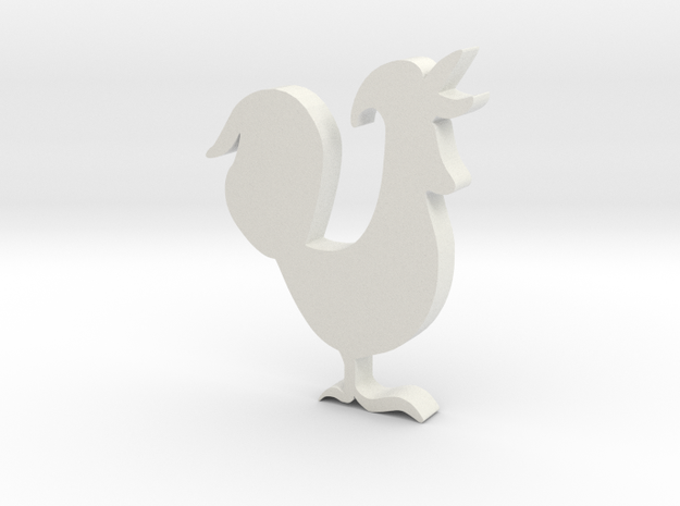 Rooster 3d printed