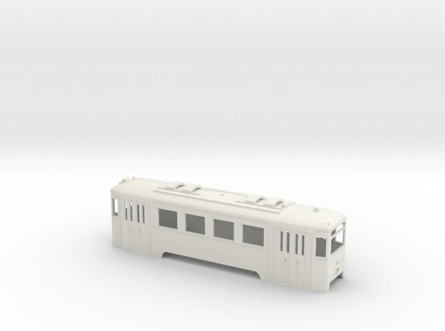 N1 Wiener Stadtbahn Triebwagen mit Lichtöffnung in White Natural Versatile Plastic
