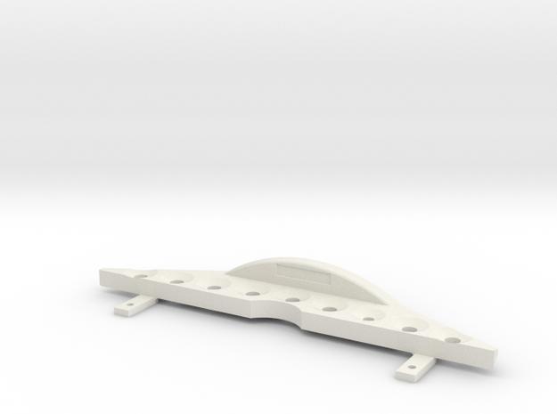 Scalemonkey RC4WD Blazer - Lock Carrier Radiator in White Natural Versatile Plastic