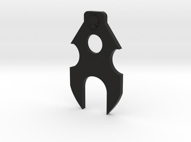 Deranged PTS Masada Stabilizer in Black Natural Versatile Plastic