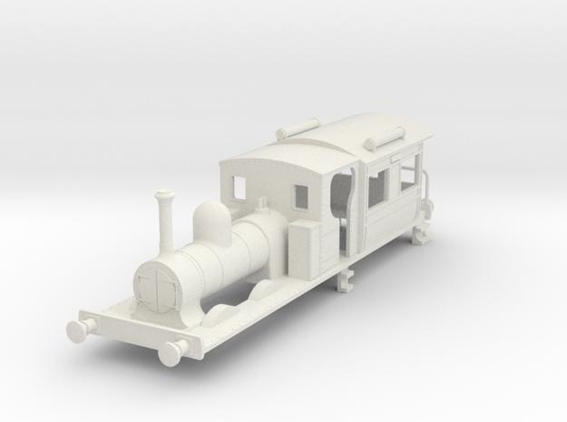 b-64-gswr-cl90-92-carriage-loco in White Natural Versatile Plastic