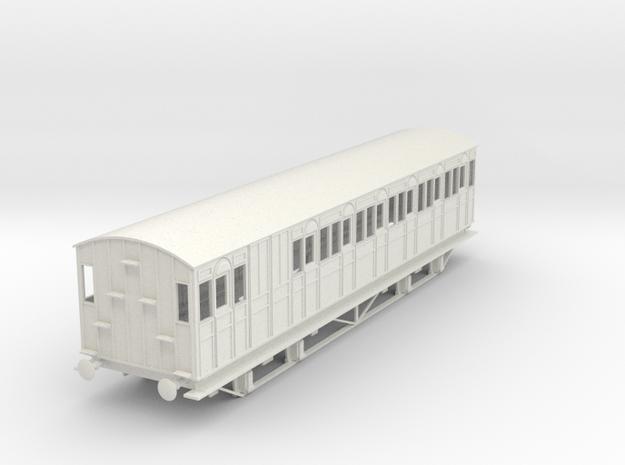o-43-metropolitan-8w-long-brake-coach-mod in White Natural Versatile Plastic
