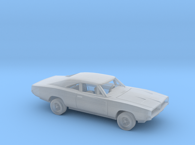 1/220 1969 Dodge  Charger Kit in Smooth Fine Detail Plastic